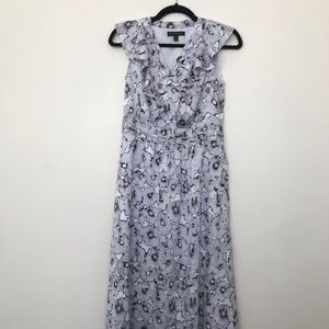 Banana Republic Petite Maxi Floral Dress
